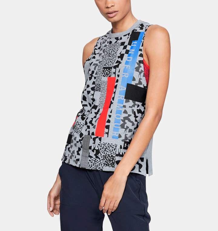 9e0a5e5181 Women's UA Chop Block Print Muscle Tank | Products | Pinterest ...