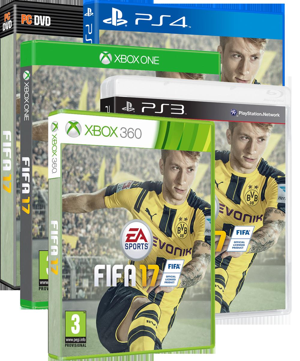 Fifa 17 Xboxone Ps4 Xbox 360 Ps3 Fifa 17 Fifa Sports