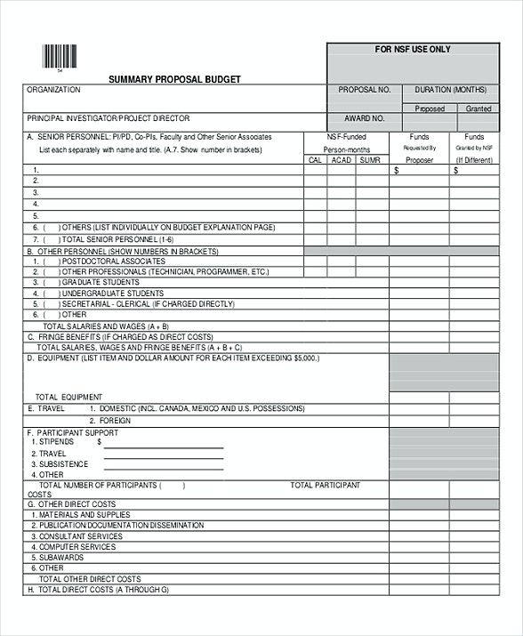 Travel Budget Proposal Template , Dave Ramsey Budget Template - budget proposal