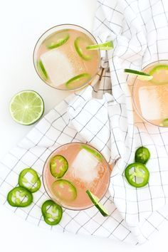 Spicy Paloma Cocktail Recipe #grapefruitcocktail