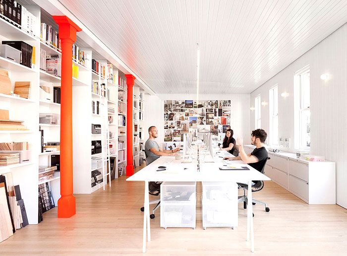 Office Space in Montreal by La Shed Architecture Work Spaces
