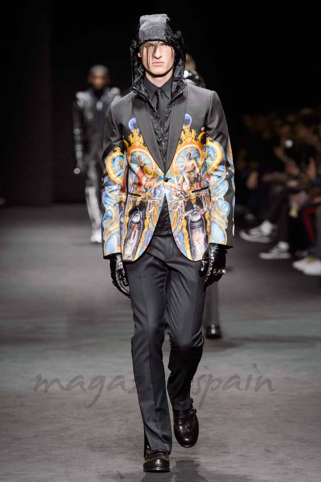 Lo mejor de la Milan Men Fashion Week: Otoño-Invierno 2017-2018 -  Versace