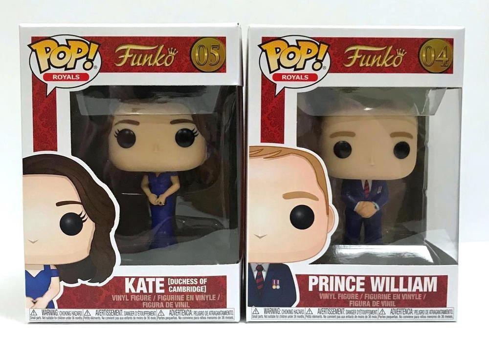 Vinyl--Royal Family Pop Kate Vinyl Duchess of Cambridge Pop