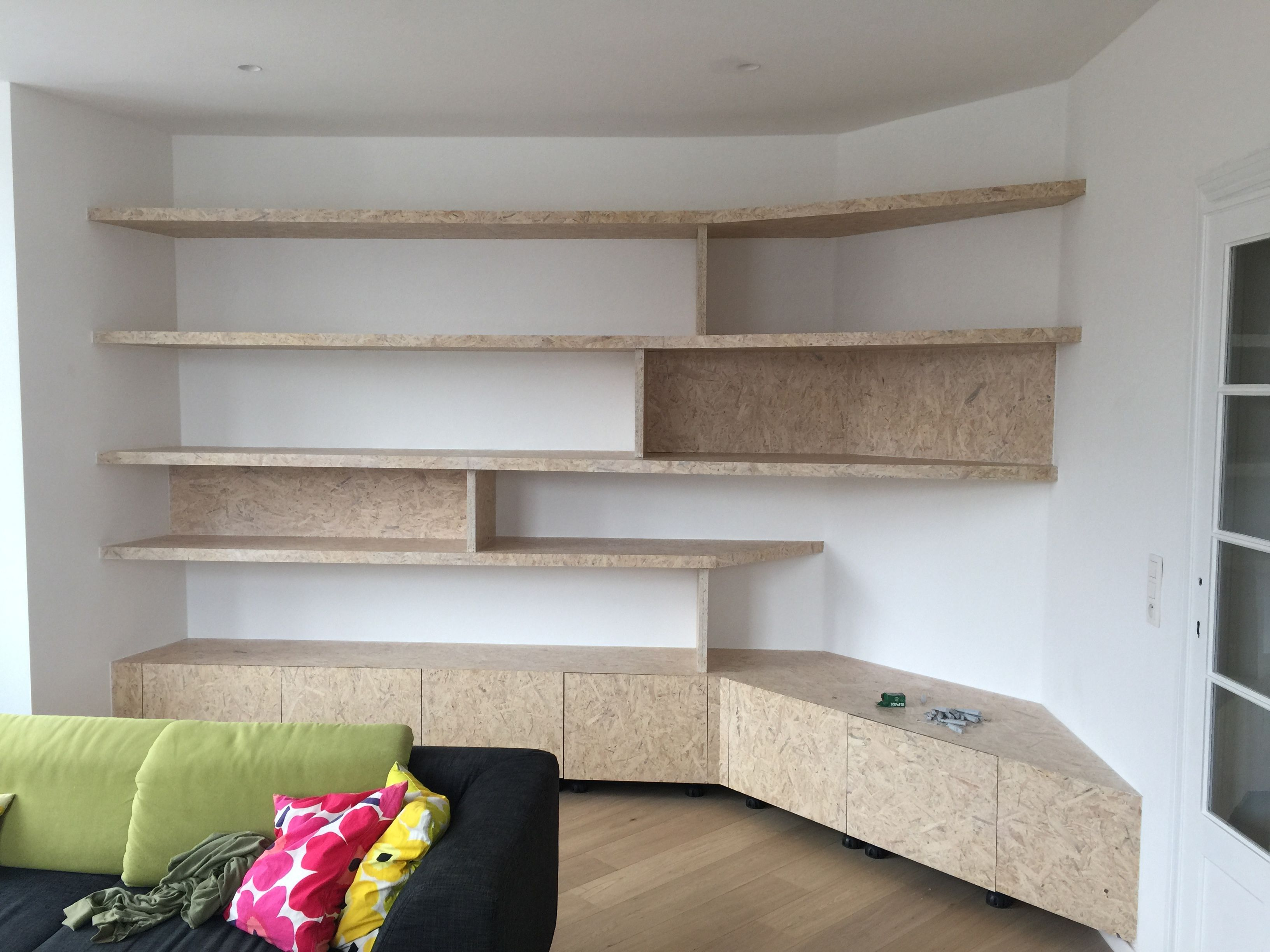 Biblioth Que Coin Tv Osb Blanchi Degroux Etterbeek Pinterest  # Bibliotheque Vitree Avec Tv Cachee