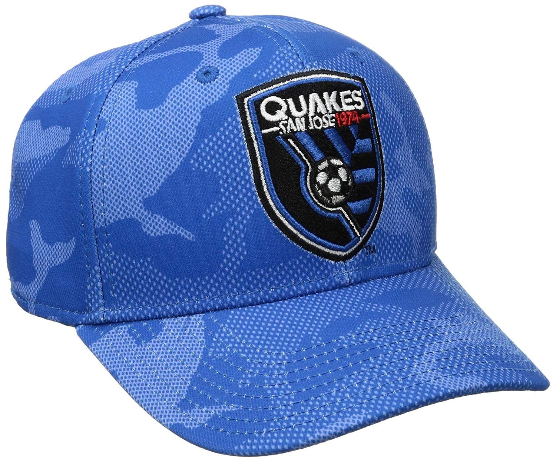 best service b5d14 e13c8 adidas MLS San Jose Earthquakes Adult Men MLS SP17 Fan Wear Tonal Camo Structured  Adjustable Cap