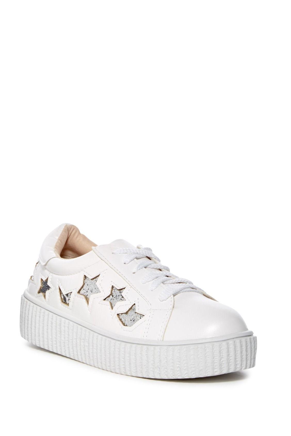 Chase \u0026 Chloe Katie Flatform Sneakers