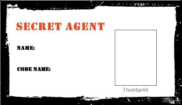 13 best photos of secret agent id card printable secret agent.