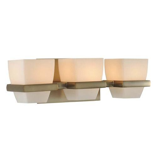 Kalco malibu brushed bronze bathroom light at destination lighting