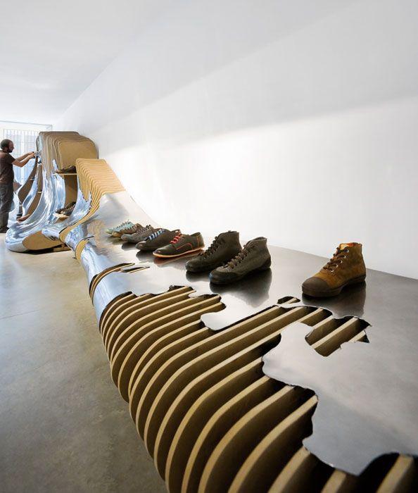 Proyectos tienda camper en sevilla restaurant retail - Diseno interiores sevilla ...