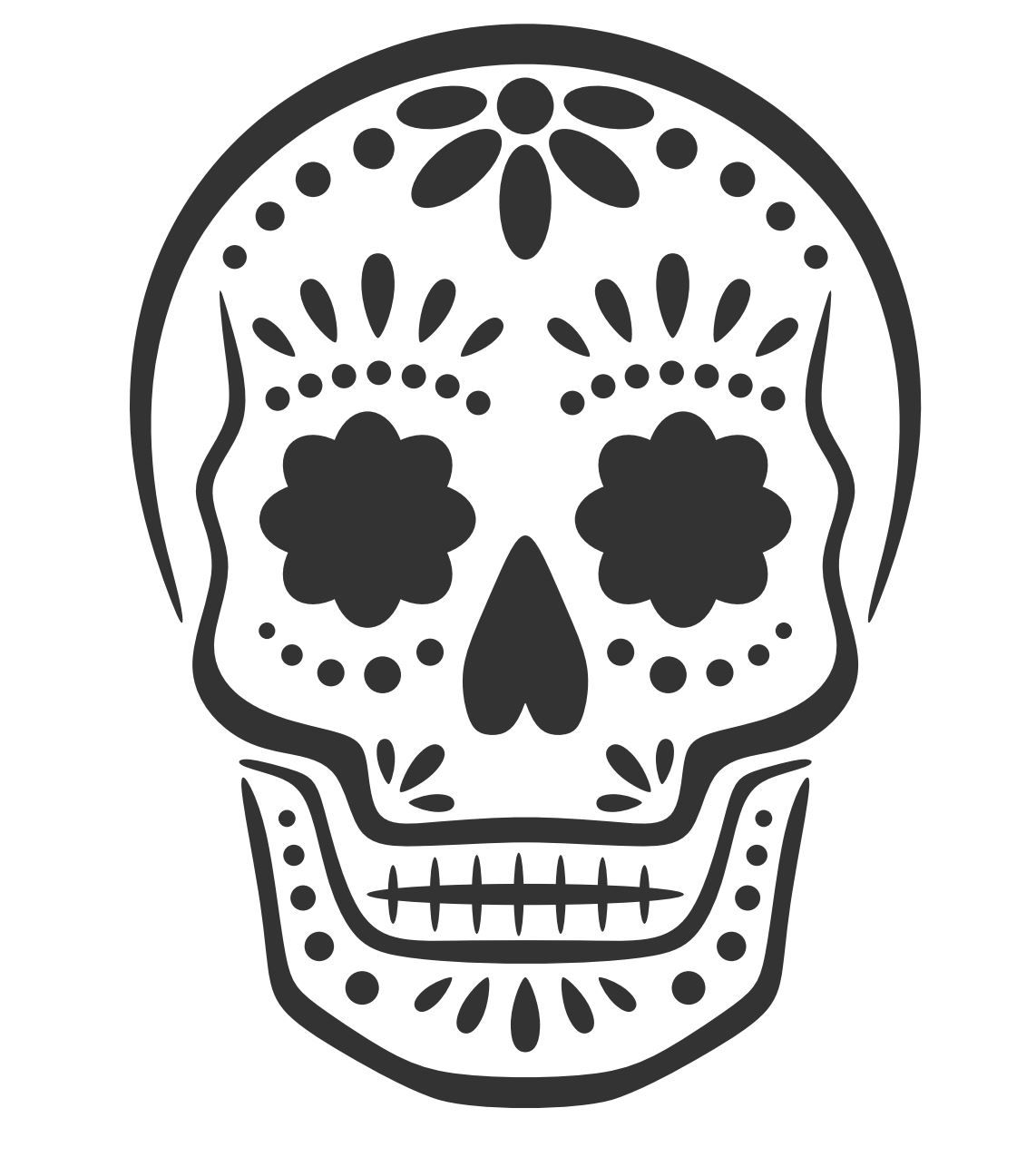 pumpkin template sugar skull  6 Free and Fabulous Halloween Pumpkin Stencils | Sugar ...