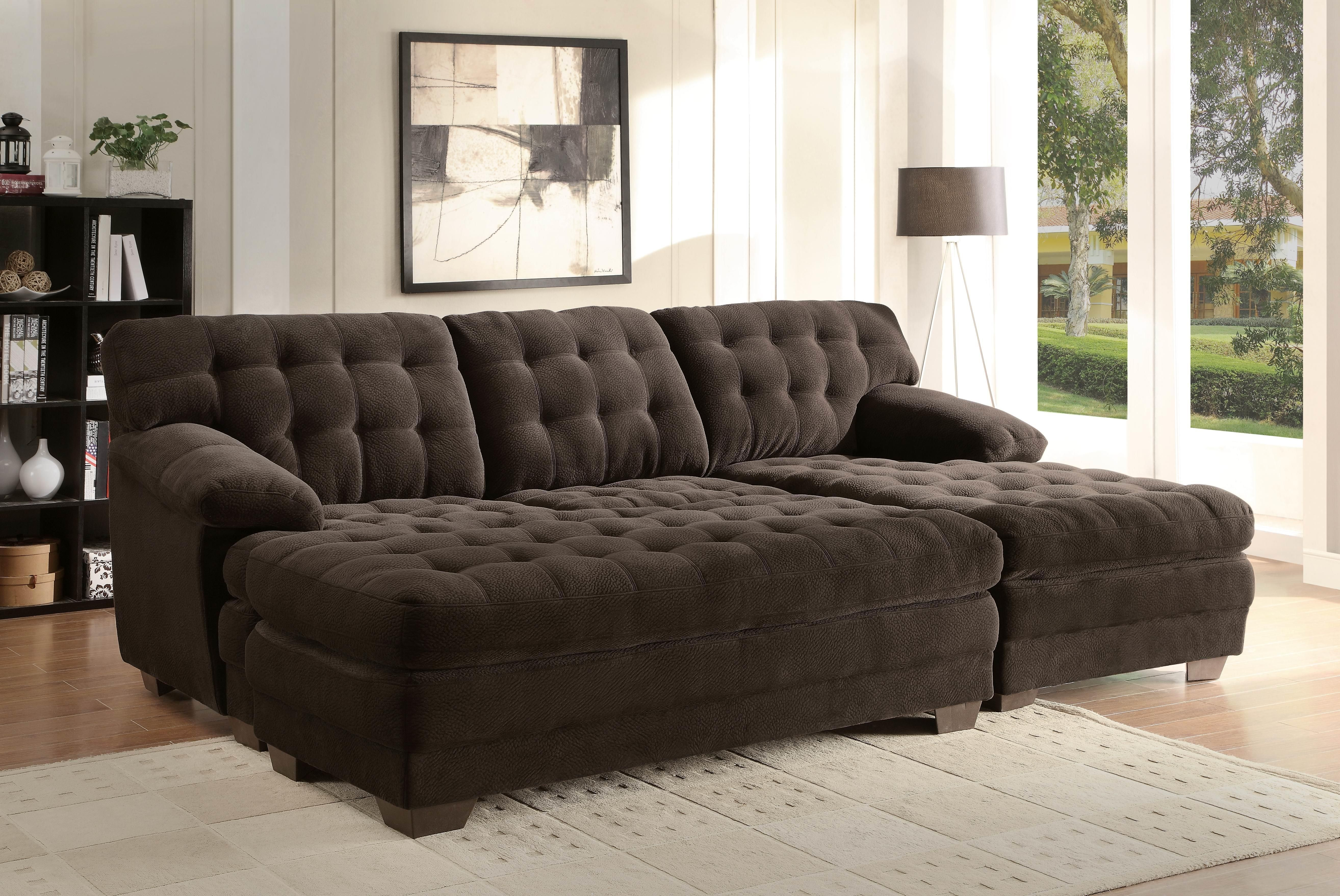Extra Wide Sofa | Sectional sofa with chaise, Sectional ...