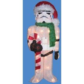 Star Wars Christmas Outdoor Storm Trooper Christmas Pinterest