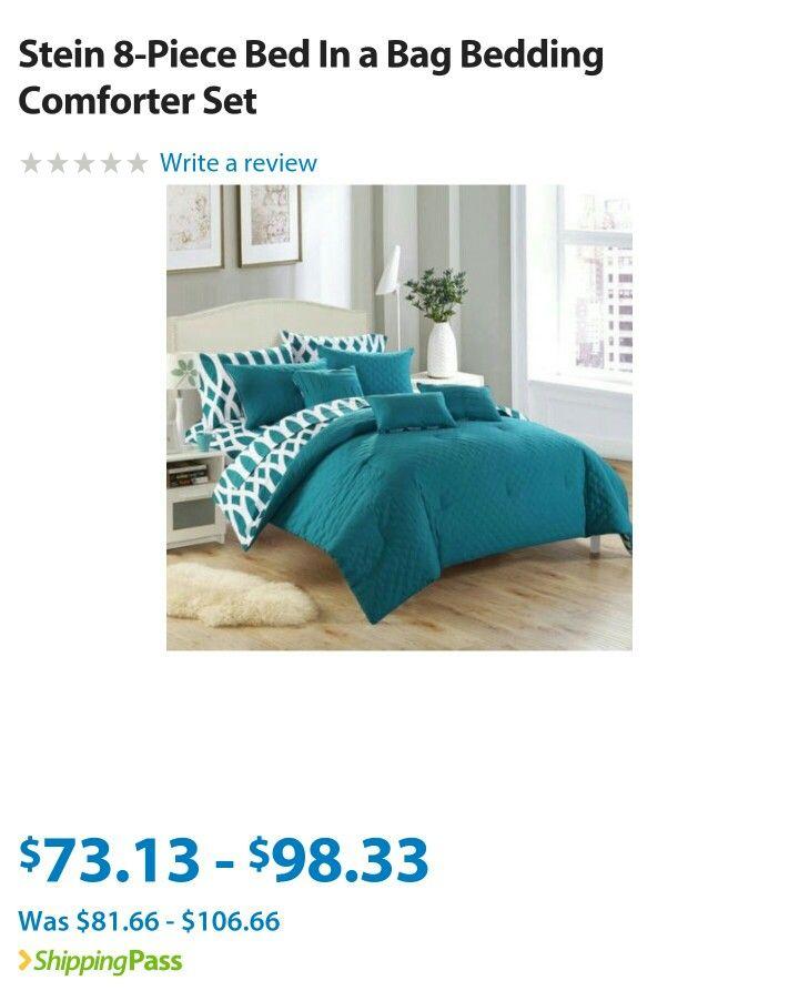 Hue blue bedding