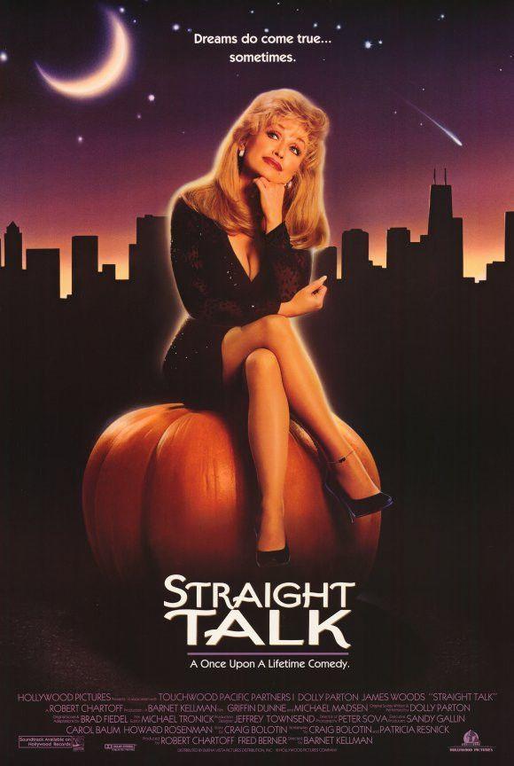 1992 Straight Talk 11x17 Movie Poster