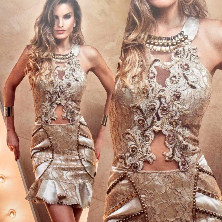 0b252d70b VESTIDO LUXO VANESSA LIMA – Loja Bela Modas | Coisas para comprar ...