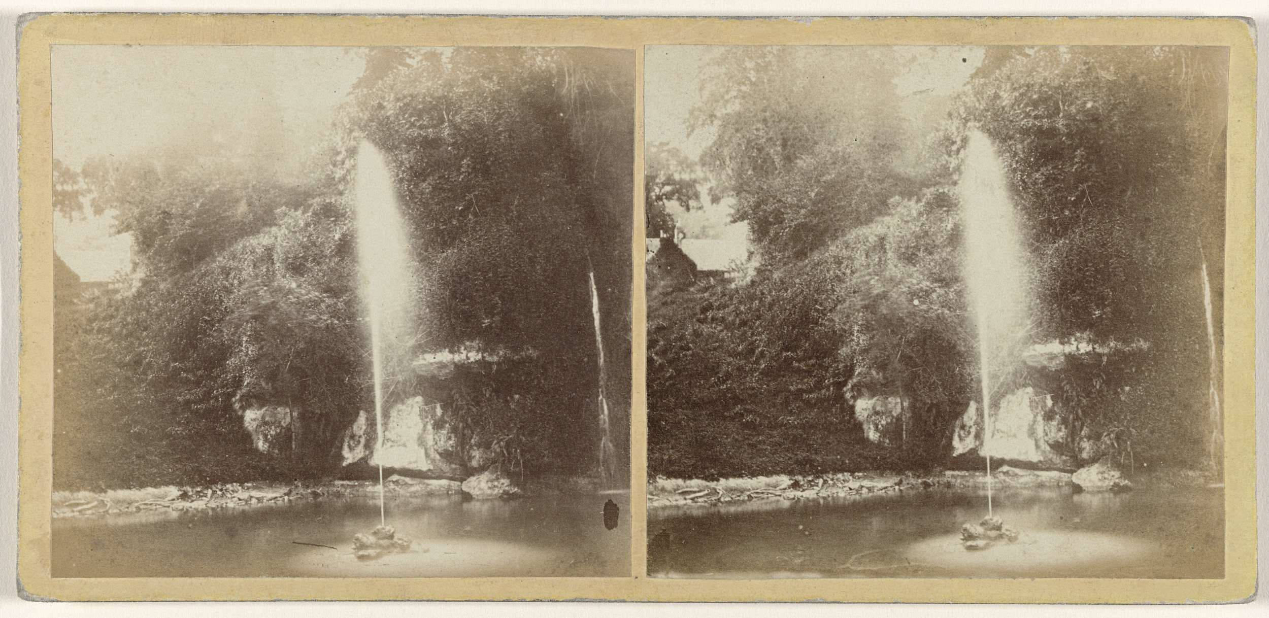 Isaac Hollis | Foumtain at Pulpit Rock, Isle of Wight, Isaac Hollis, 1861 |