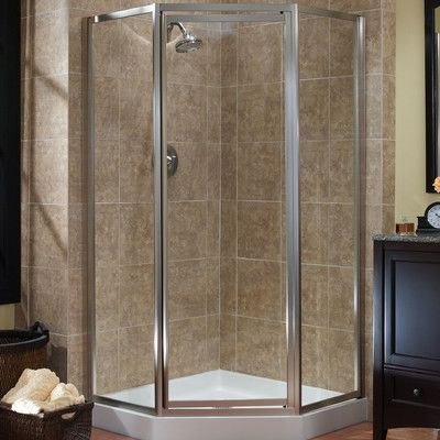 Hazelwood Home Chase 0 37 X 70 Neo Angle Shower Enclosure Neo