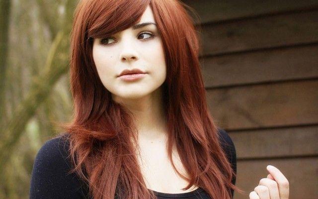 çekici Sıcak çikolata Saç Renkleri Ve Saç Boyaları