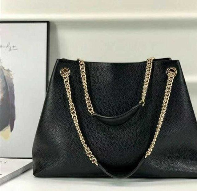 Bolsa Replica Chain Shoulder Bag Vermelha Linha Premium Bolsas