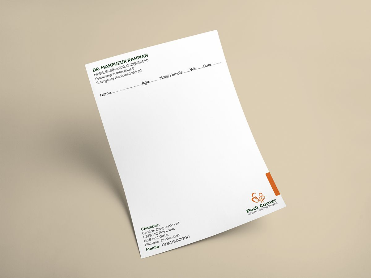 Doctor Prescription On Behance  Flyer Design    Behance