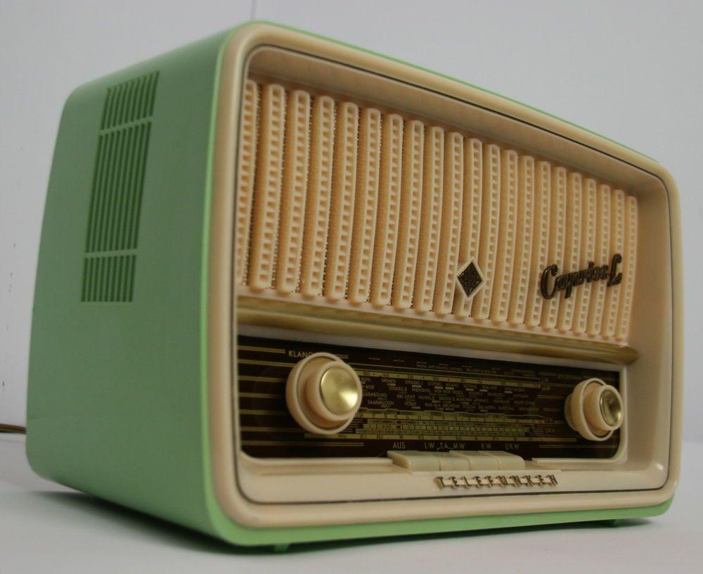 heißes Produkt am billigsten elegantes Aussehen Telefunken Caprice K 1151 Röhrenradio Restauriert vintage ...