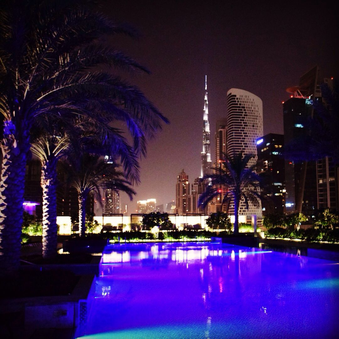 The Stunning Rooftop View From The Pool At Jw Marriott