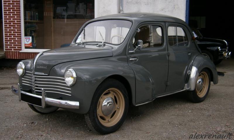 1950 Renault 4cv Voiture Renault Voitures Retro Voitures Anciennes