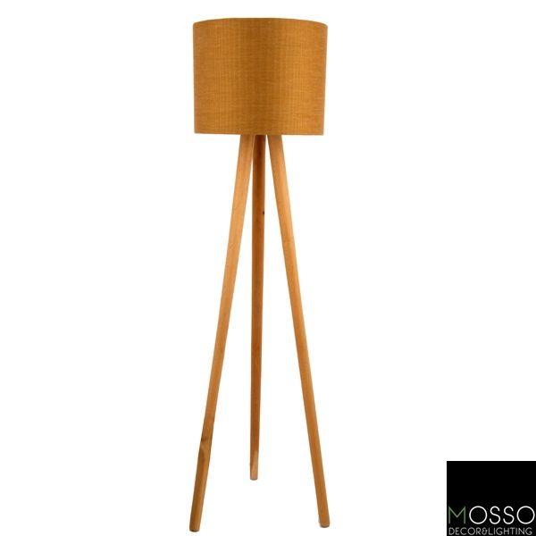 Pio Floor Lamp Lambader Wooden Floor Lamp Handcrafted