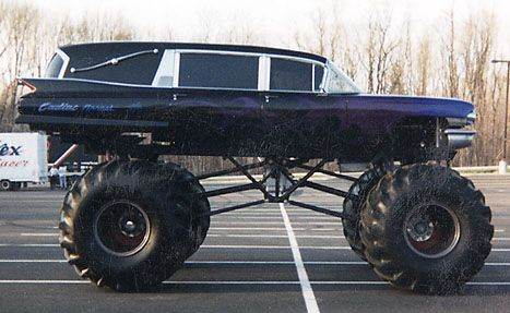 What This Oh This Is Just My Hearse Monster Truck Duh
