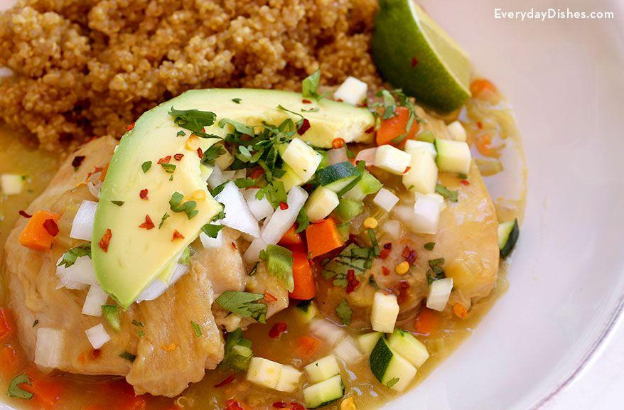 Mexico City Style One Pan Chicken Recipe Video Winner Winner
