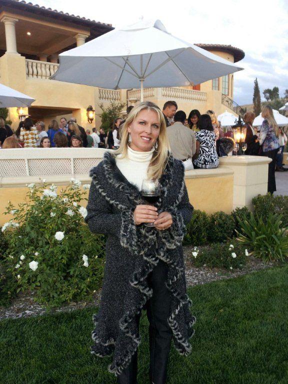 Sara at Villa San Juliette Harvest Season Kick Off Party