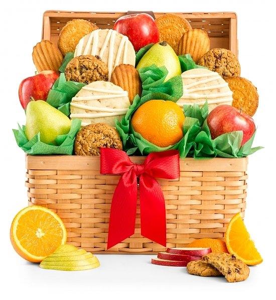 Sweet Indulgence Gift Basket   Cookie Gift Basket   Arttowngifts.com