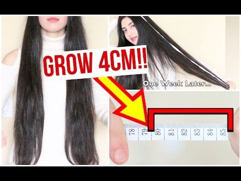 Grow Your Hair Faster Longer In 1 Week Proof Youtube How To Grow Your Hair Faster Hair Mask For Growth Super Hair Growth