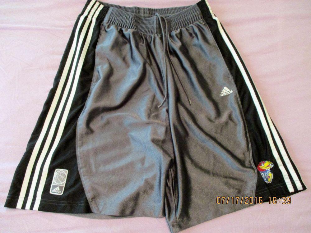 40a6dba5ceb8 Vintage Adidas Kansas University KU Kansas Jayhawks Basketball Shorts Large   adidas  KansasJayhawks  shorts  basketball  retro  vintage  cool   mensfashion ...