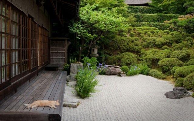 steingarten ideen haus eingang stilvoll gestalten beispiele garten pinterest japan garten. Black Bedroom Furniture Sets. Home Design Ideas