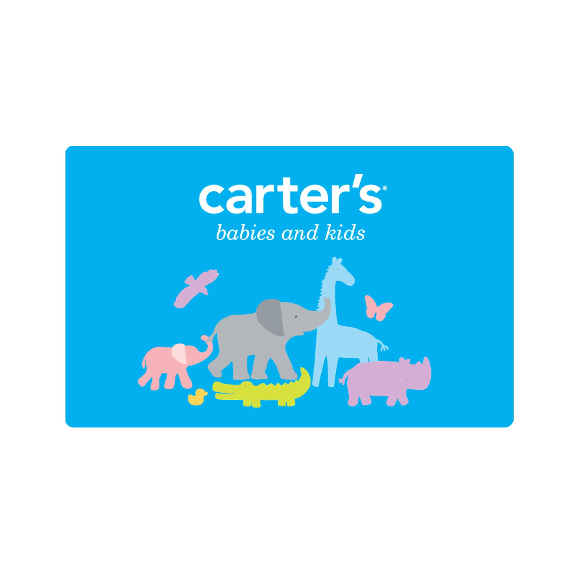 Carters gift cards we buy almost all of lilys clothes