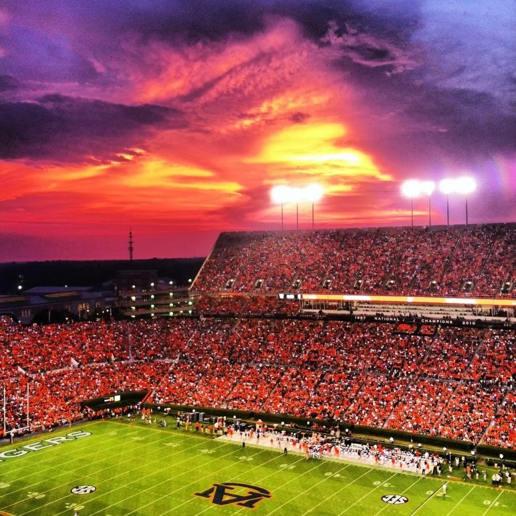 Jordan Hare Stadium Auburn University Auburn University War