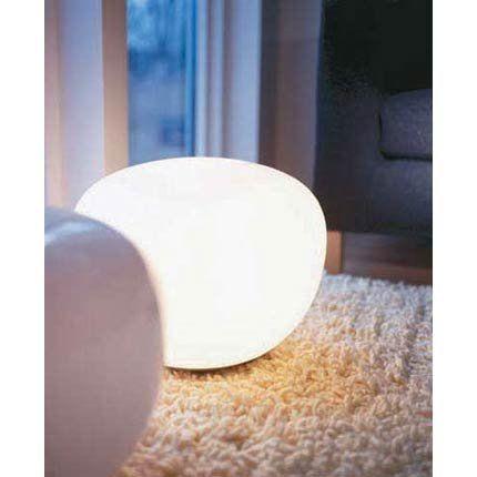 interesting a poser directement sur une table ou mme le sol cette lampe toute ronde est en. Black Bedroom Furniture Sets. Home Design Ideas