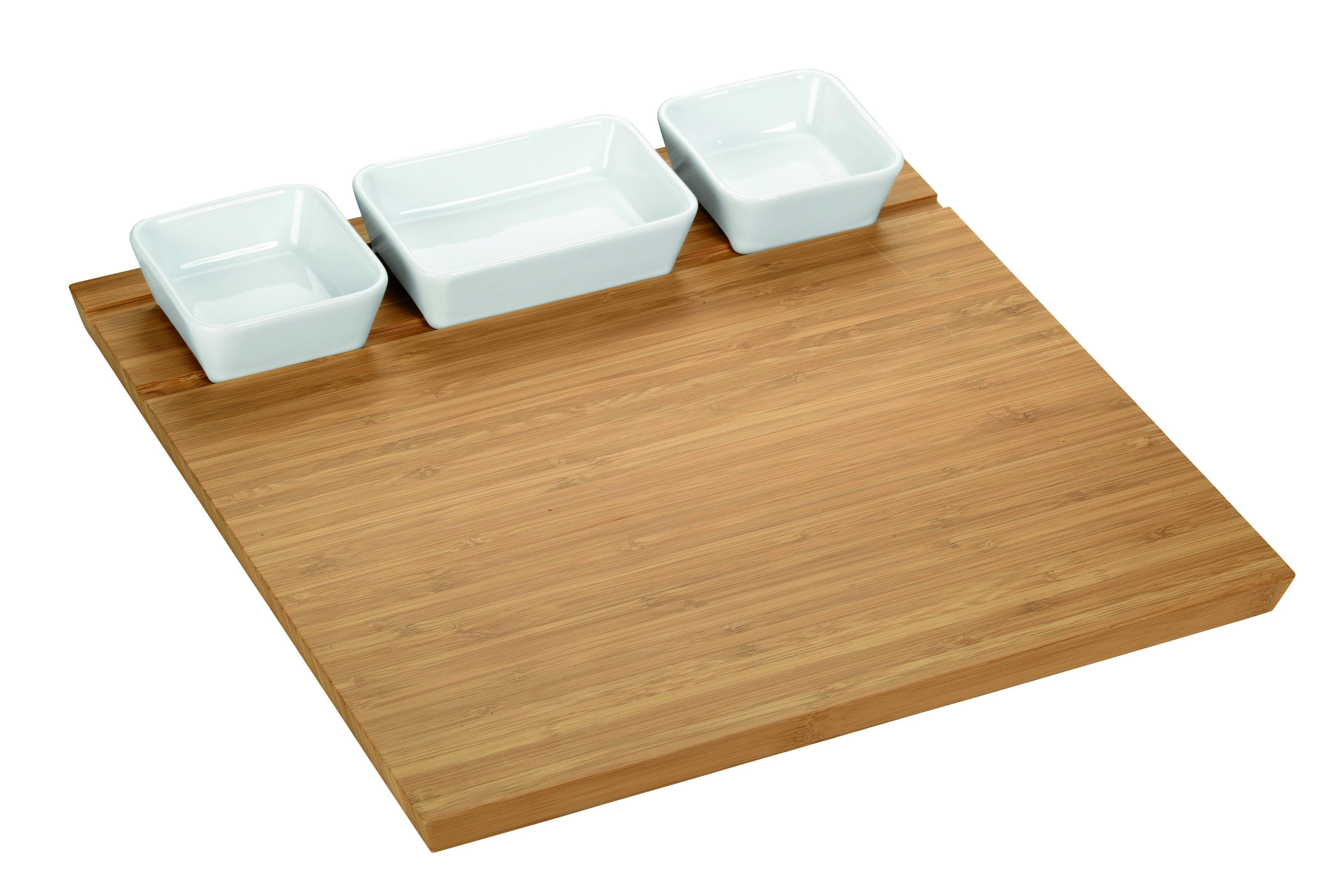 Pratico e semplice accessorio per portare in tavola aperitivi e stuzzichini.