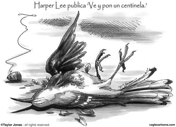 Un heroe encuentra su muerte   - CagleCartoons.com