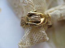 Antique Fede Gimmel Ring