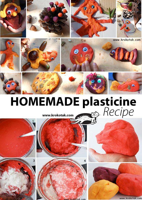 how to make plasticine hard