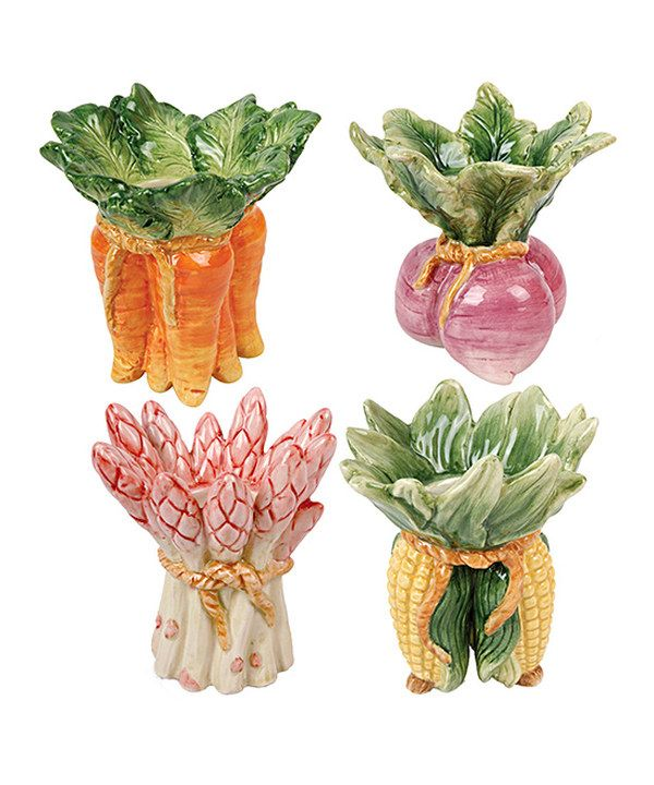 Look at this Vegetable Votive Set on #zulily today!