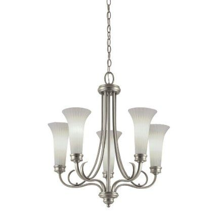 Portfolio 5 light antique pewter chandelier lighting pinterest portfolio 5 light antique pewter chandelier aloadofball Images
