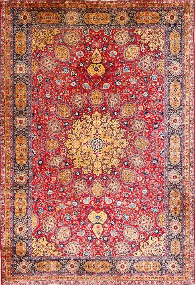 Persian Tabriz Rug Matt Camron Gallery Textile Arts