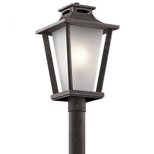 Best Kichler 49664Wzc Outdoor Post Mt 1Lt Outdoor Post 400 x 300