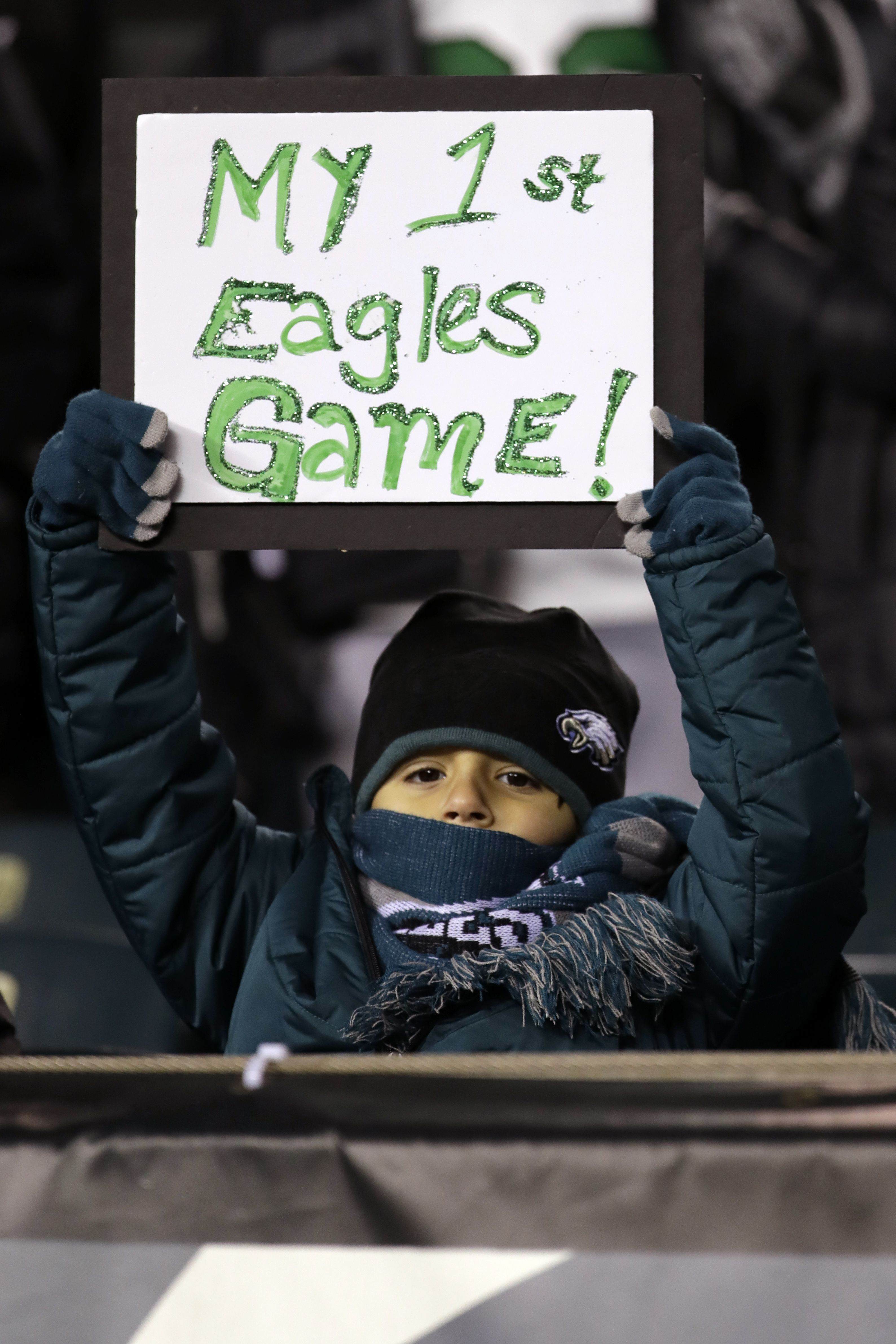A Playoff Win Over The Atlanta Falcons This Kid Picked A Good One Ap Szagola Nfl Fantasy National Football Eagles Game