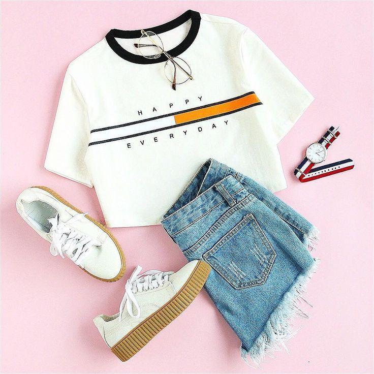 croptop fashion Gefllt 25.1 Tsd. Mal, 75 Kommentare - SheIn.com (sheinofficial) auf Instagram... #lo...