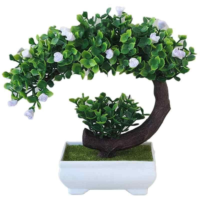 Gambar Bunga Di Dalam Pot Bulan Sabit Mawar Buatan Bonsai Dengan Pot Bunga Pot Plastik Buatan Bunga Bunga Dalam V Pflanzen Farbe Fur Kunststoff Topfpflanzen