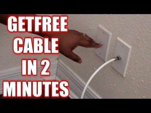 How To Get Free Cable With Zero Monthly Cost No Gimmicks No Sign Up No Tricks Youtube Tv Without Cable Tv Hacks Cable Tv Hacks